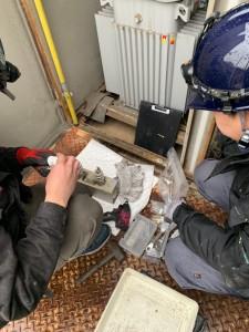 某工場解体工事に伴うPCB抜き取り検査_190227_0002